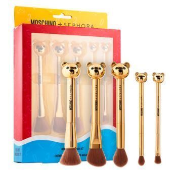 SEPHORA COLLECTION MOSCHINO + SEPHORA Bear Brush Set