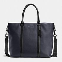 Coach ◆ 57773 Harness metropolitan tote in block leather