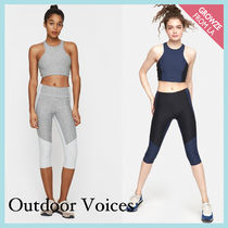 【Outdoor Voices】新作!2トーン カプリレギンス☆
