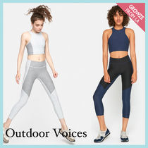 【Outdoor Voices】新作!2トーン 3/4 カプリレギンス☆