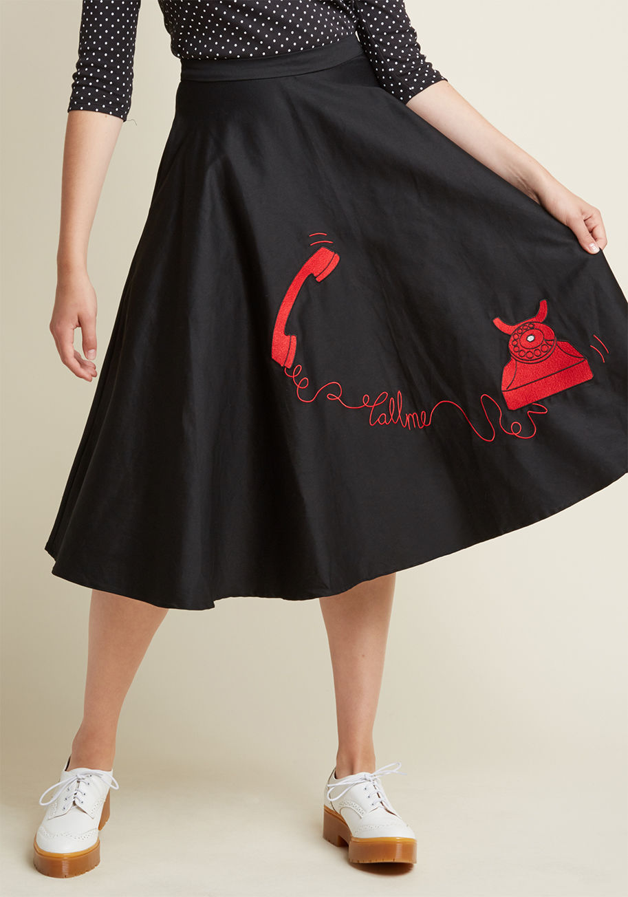 ◎送料込み◎  collectif your call midi skirt