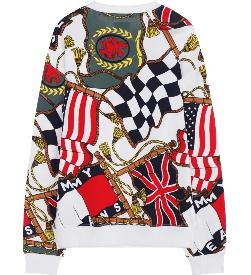 ☆Tommy Hilfiger☆Man Graphic Print Crew Neck Sweatshirt