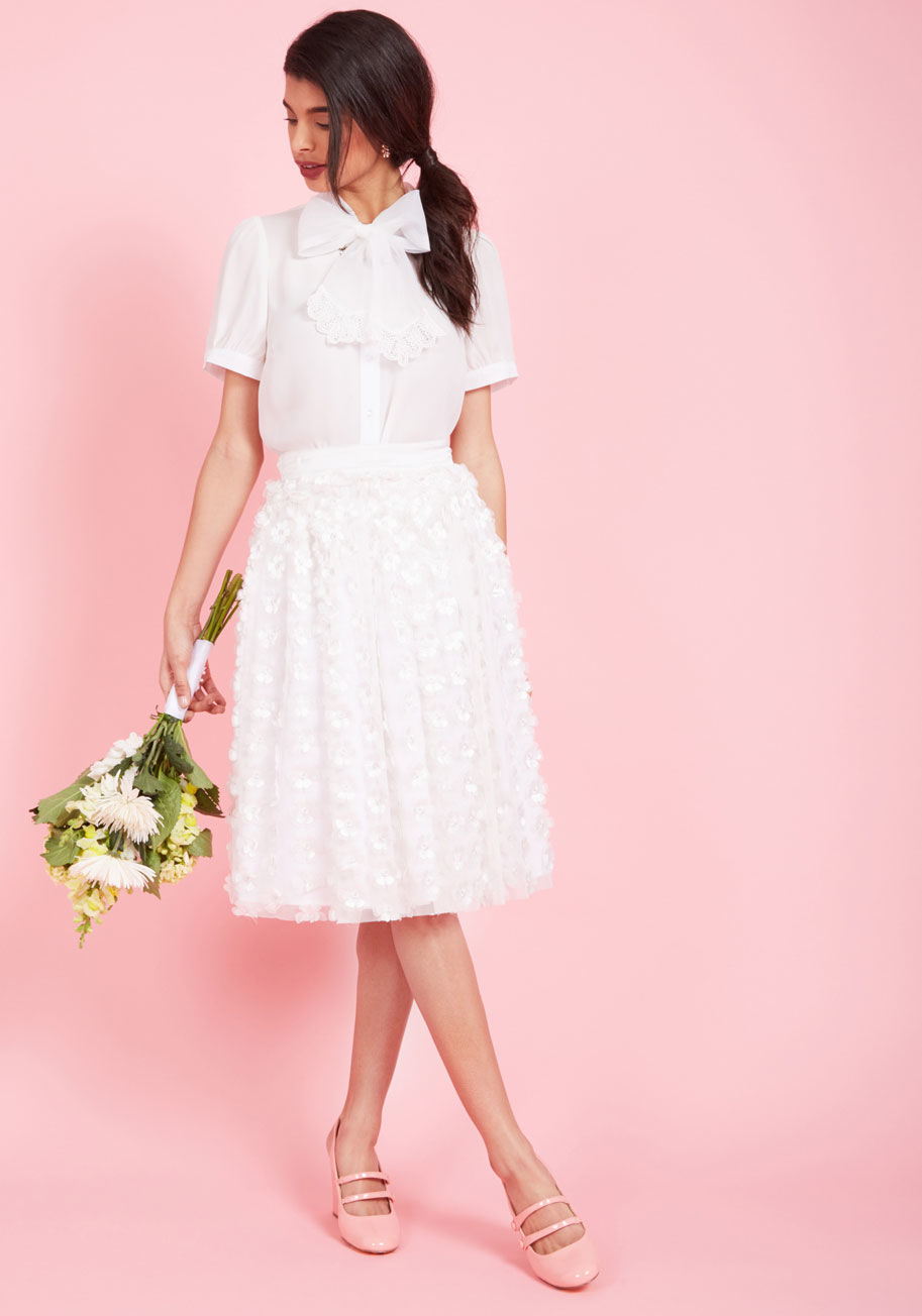 ◎送料込み◎  altogether exquisite a-line skirt