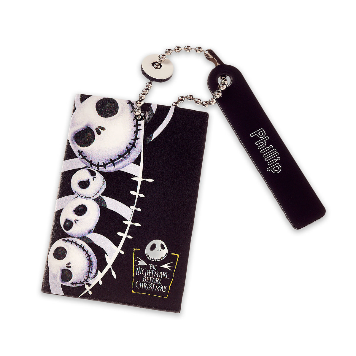 ○送料込○ Jack Skellington Leather Luggage Tag -