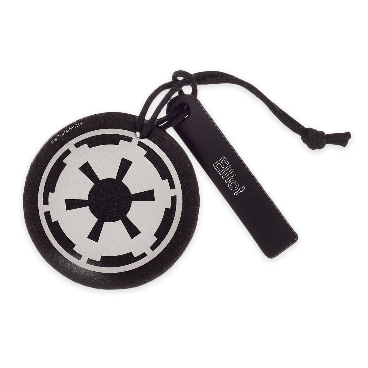 ○送料込○ Star Wars Imperial Symbol Leather Luggage Tag -