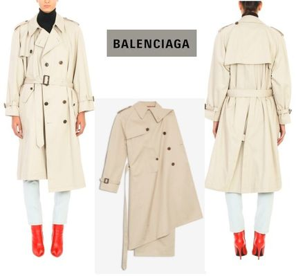 ■BALENCIAGA■ Pulled oversized  trench coat 関税/送料込み