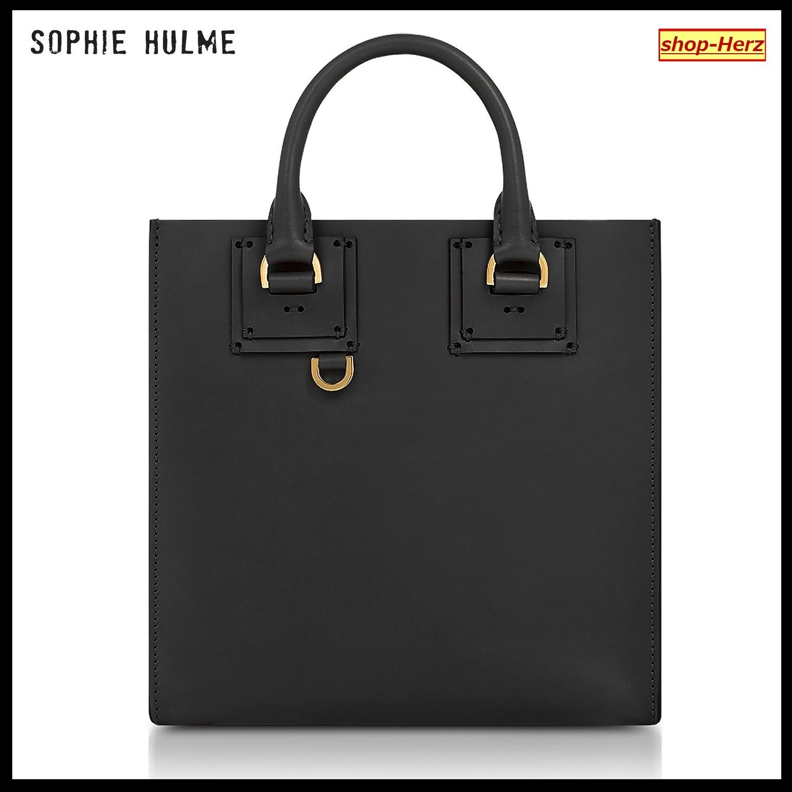 ★SOPHIE HULME★ Black Albion Square トートバッグ 関税込