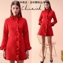 国内発送・送料関税込☆Chicwish☆Rock With Ruffle Coat