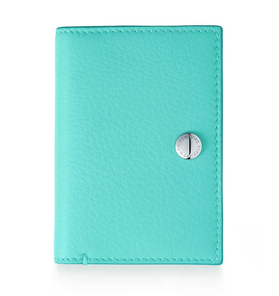 [Tiffany & Co.]新作♪Vertical Folded Card Case