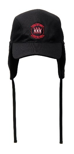 【ANOTHERYOUTH】正規品★UNISEX Earflap キャップ BLACK/追跡付