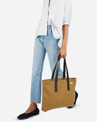 Everlane-Twill Zip Tote バッグ ③色 関税・送料込み