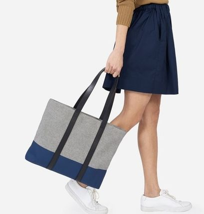 Everlane-Twill Zip Tote バッグ ②色 関税・送料込み