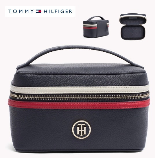 【Tommy Hilfiger】 メイクポーチ