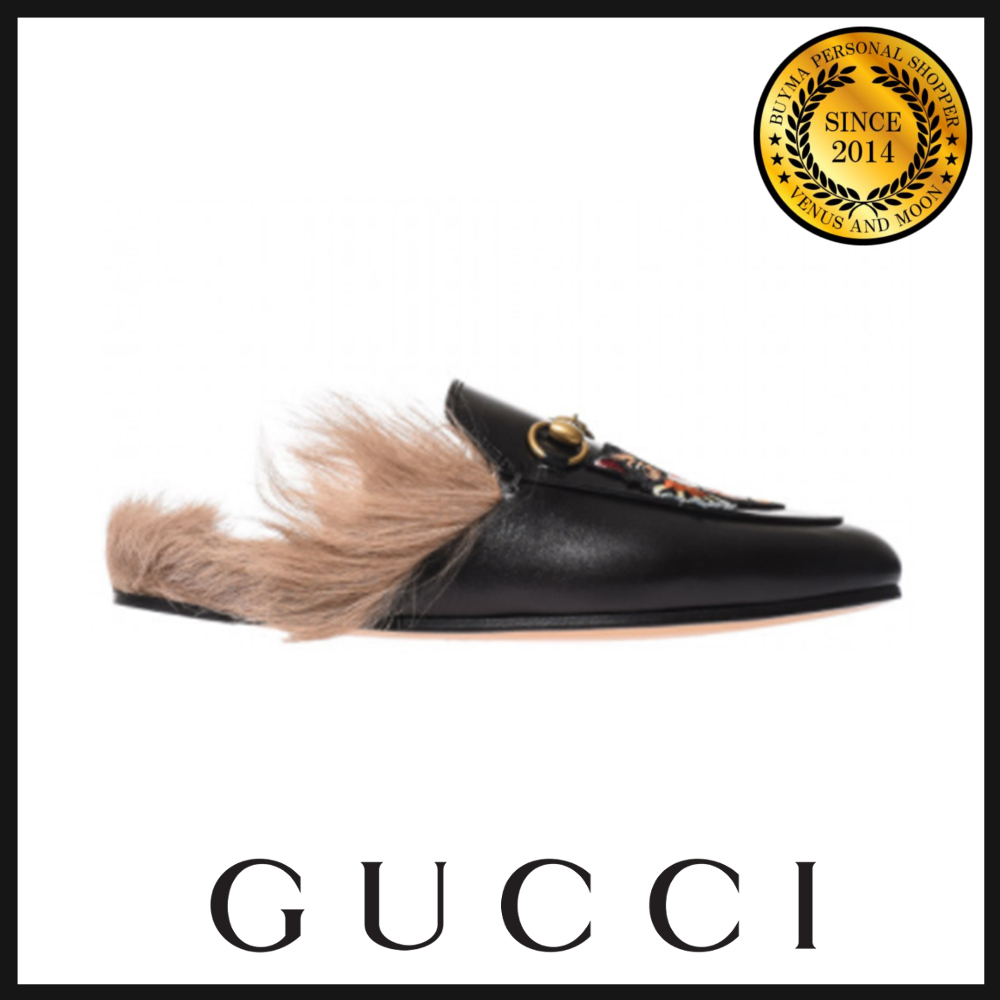 GUCCI グッチ Angry Cat スリッパ 478285DKHH01063