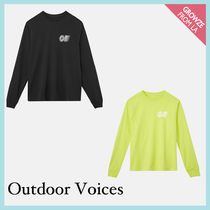 【Outdoor Voices】新作!限定 ロゴ 長袖 Tシャツ ロンT☆