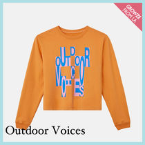 【Outdoor Voices】新作!限定 ロゴ クルーネック スウェット☆