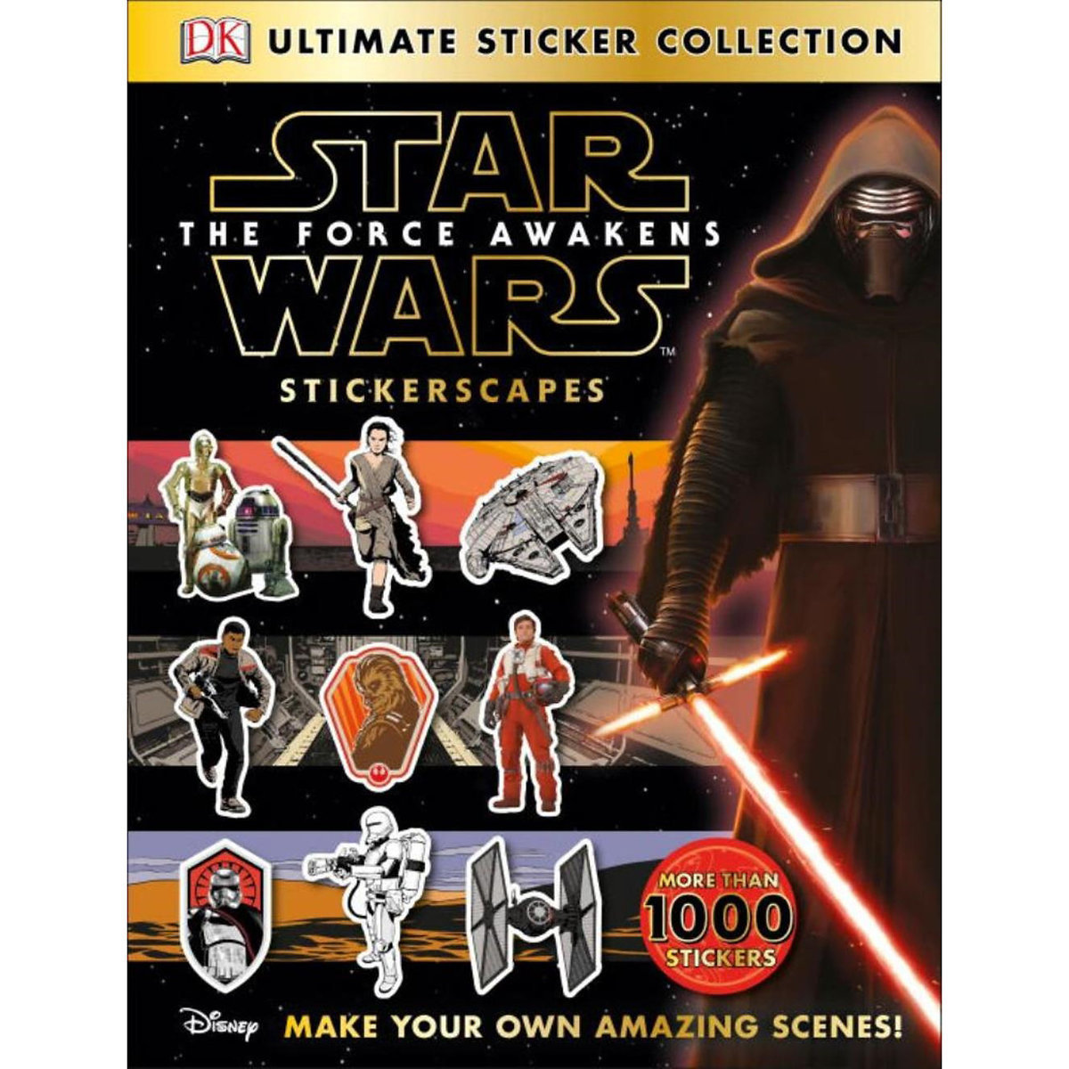 ○送料込○ スターウォーズ Ultimate Sticker Collection: