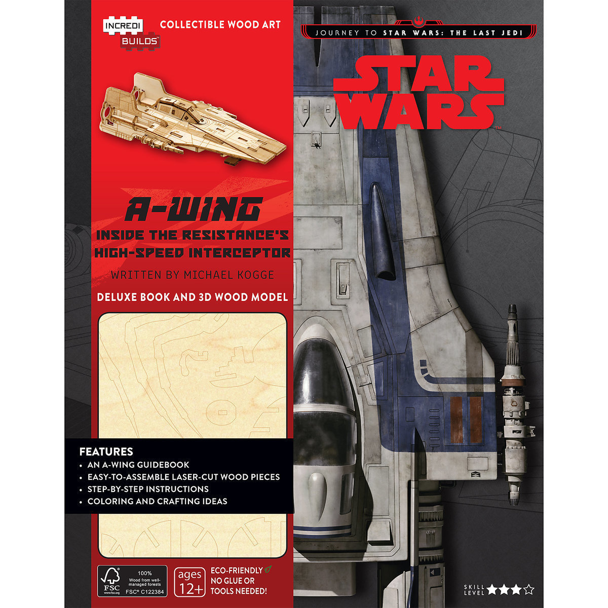 ○送料込○ スターウォーズ IncrediBuilds: Star Wars: A-Wing