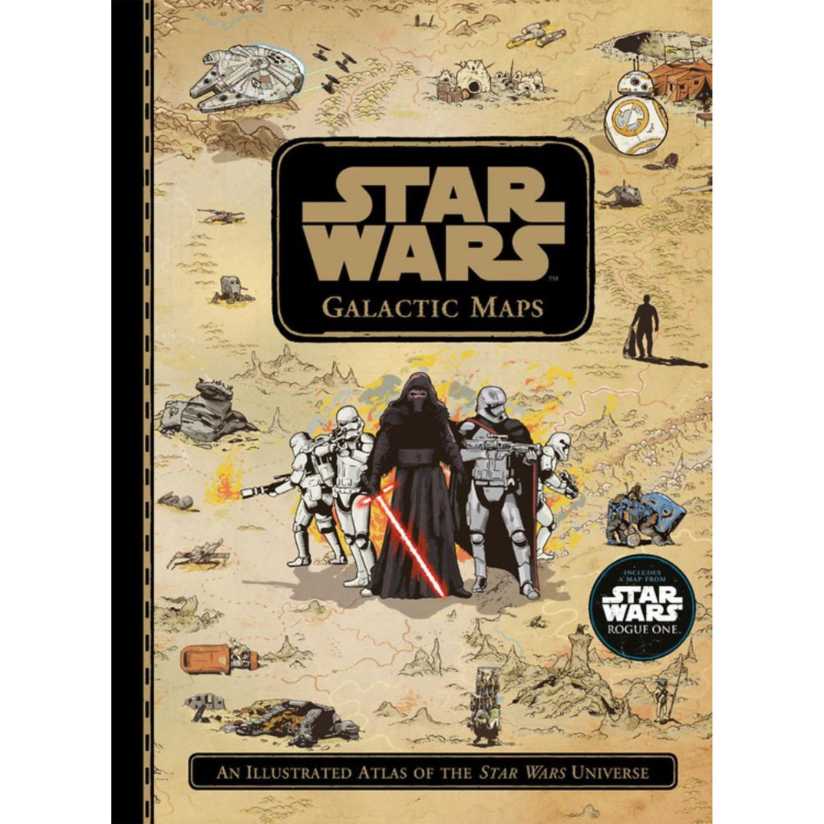 ○送料込○ スターウォーズ Star Wars Galactic Maps Book