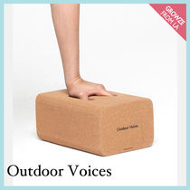 【Outdoor Voices】新作!オリジナル ロゴ ヨガ コルクブロック