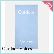 【Outdoor Voices】新作!オリジナル ロゴ ビーチタオル☆