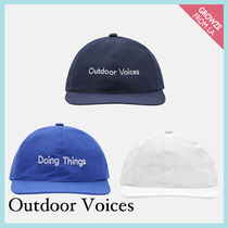 【Outdoor Voices】新作!Doing Things ロゴ キャップ☆