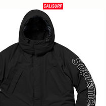 Sサイズ★FW17★Supreme 700 Fill Down Taped Sean Parka-BLACK