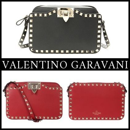 【関税送料込】スタッズ◆VALENTINO GARAVANI◆Shoulder Bag