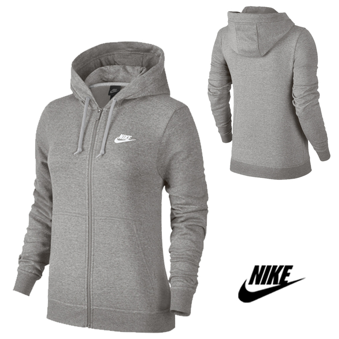 NIKE★関税込み★AS W NSW HOODIE FZ FLC★GREY★0196