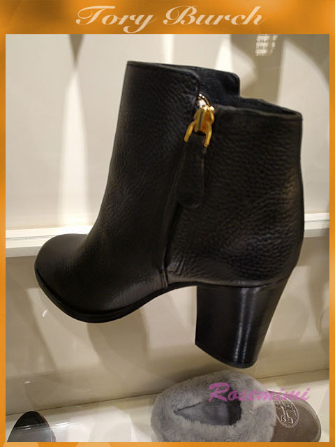 Tory Burch☆JUNCTION 85MM BOOTIE☆ロゴ付きブーテイ☆2色
