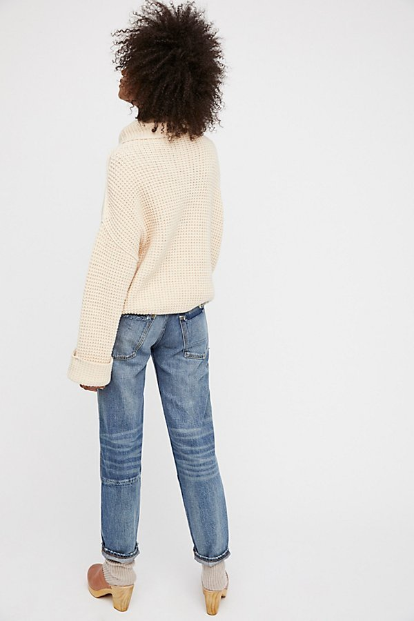Free People フリーピープル Patched Bandit ジーンズ 送料無料