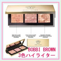 セール!(BOBBI BROWN) HighlightingPowderTrio 3色ハイライター