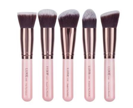Luxie限定ブラシセット☆Rose Gold 5-Piece Kabuki Brush Set
