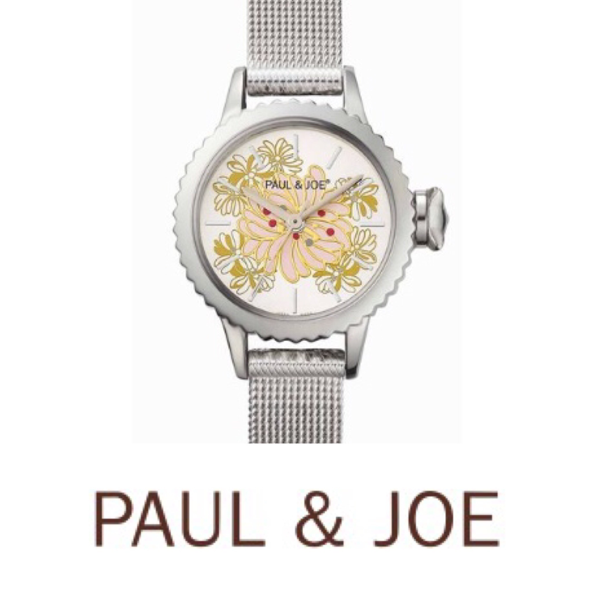 "送料込【PAUL & JOE】""新作 "" 腕時計 CAT CROWN CHRYSANTHEMUM"