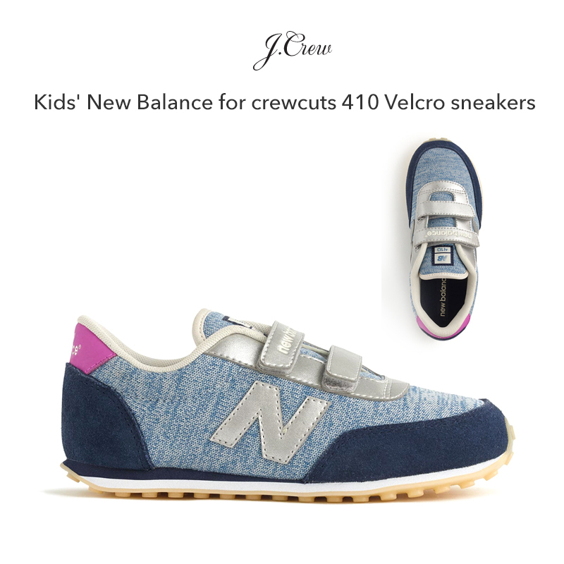 Kids' New Balance for crewcuts 410 スニーカー