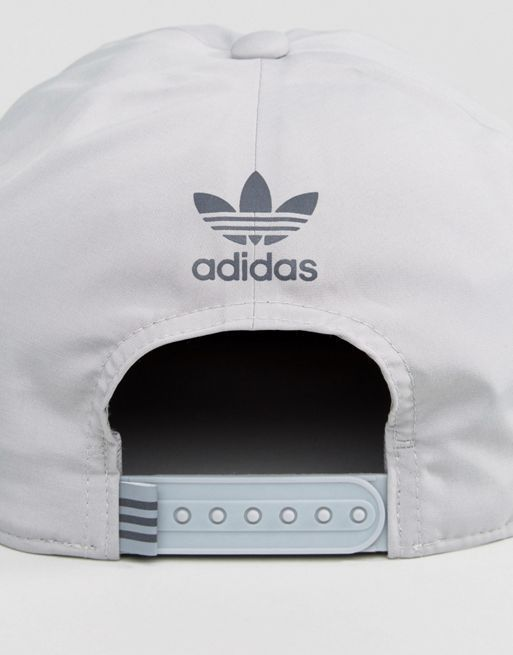 送料込 adidas Originals Snapback Bull Caps In Grey 帽子