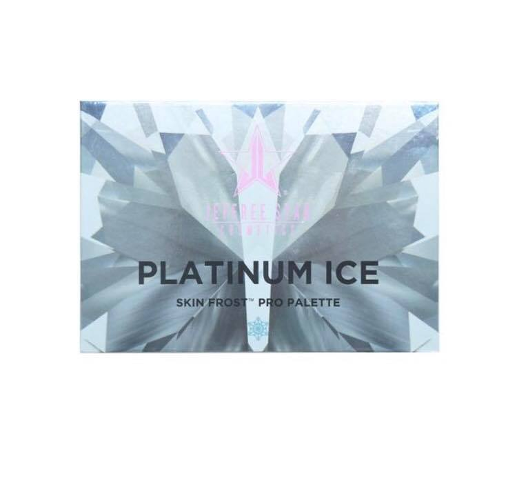 JEFFREE STAR COSMETICS  PLATINUM ICE PRO PALETTE HIGHLIGHTER