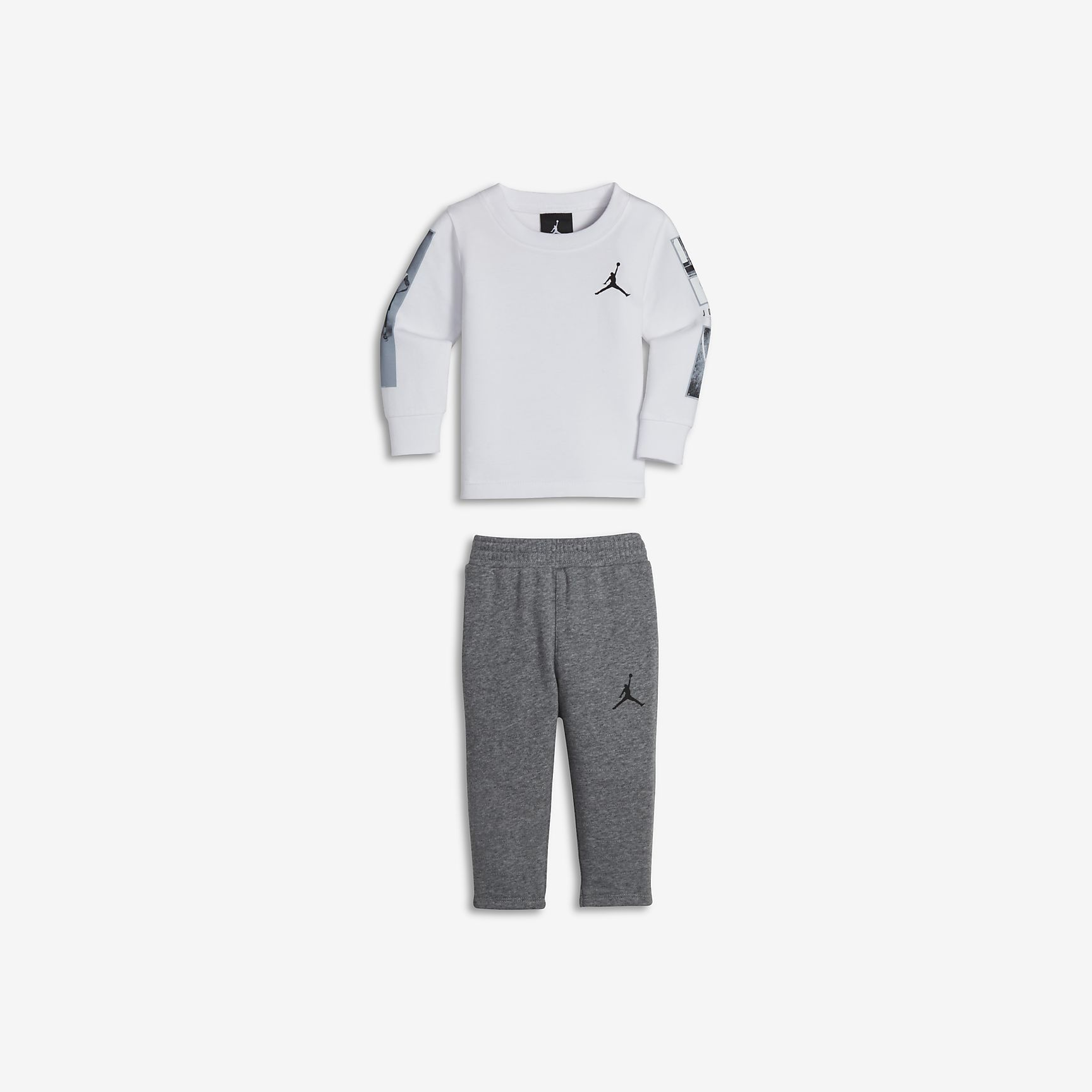 JORDAN TWO-PIECE Infant Shirt And Pants Set