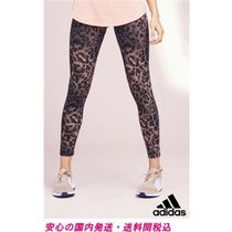 adidas ピンク Essential プリントレギンス♪