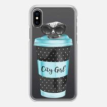 【Casetify】 ★ iPhone ケース ★ coffeeパグ