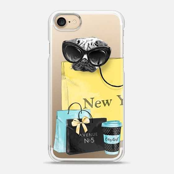 【Casetify】 ★ iPhone ケース ★ NewYorkパグ