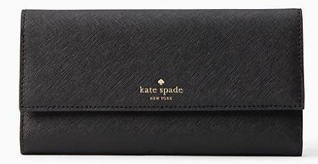 送料込み kate spade new york leather iphone 7/8 plus wallet