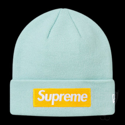 Supreme ニットキャップ・ビーニー FW17 SUPREME NEW ERA BOX LOGO BEANIE ICE BLUE 送料無料