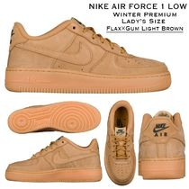 NIKE AIR FORCE 1 LOW (Flax/Gum Light Brown ) 22.5cm-25cm