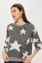 《キュートな星ニット♪》☆TOPSHOP☆Star Pattern Jumper