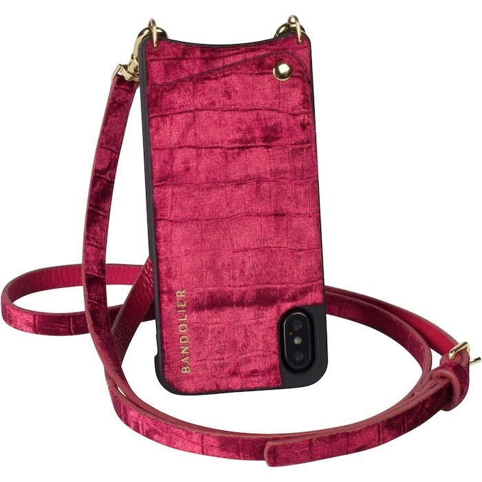 X専用のレアモデル!!Bandolier EMMA Velvet for iPhone X