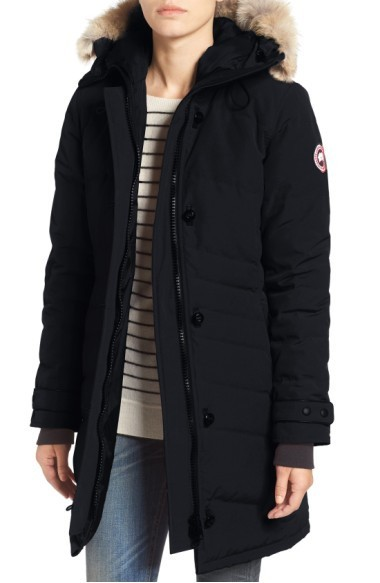 関税送料込 Canada Goose 'Lorette' Hooded Down Parka with  ♪