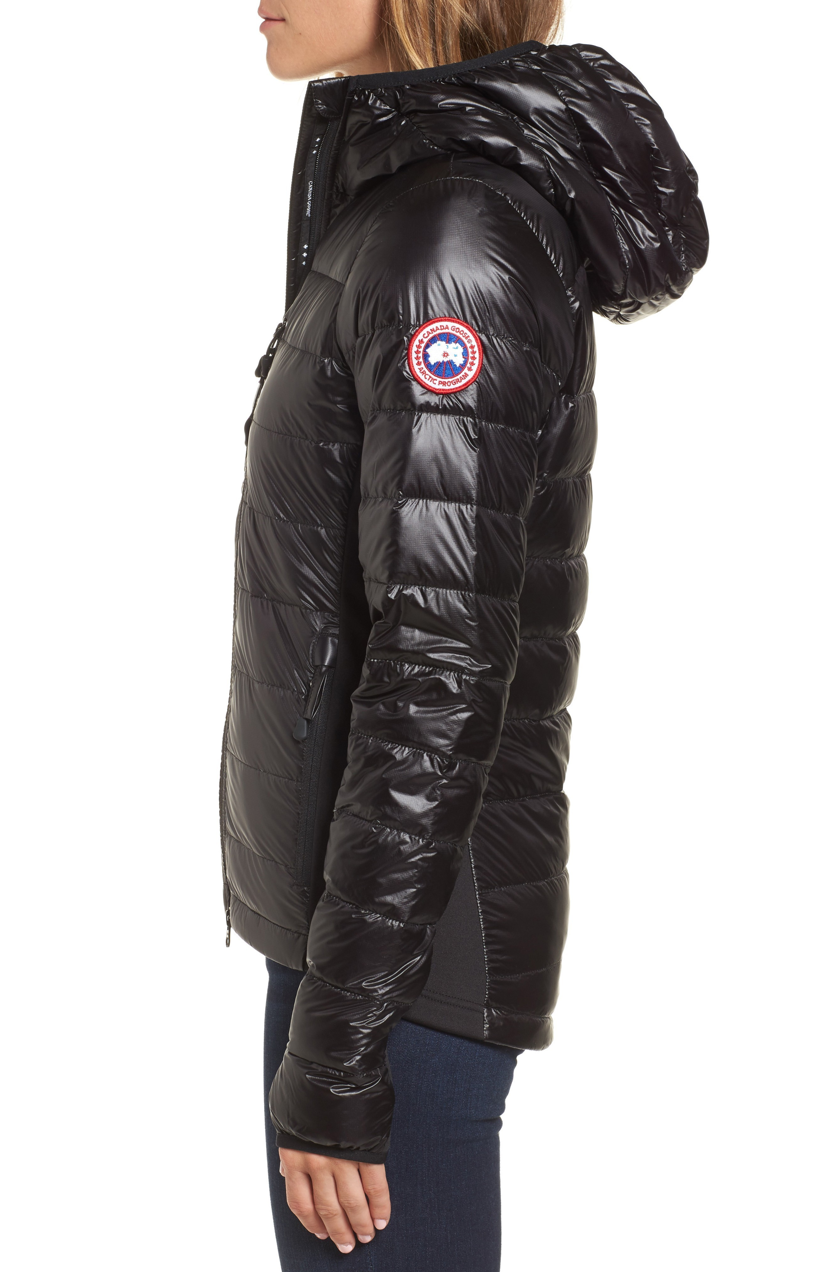 関税送料込 Canada Goose 'Hybridge Lite' Slim Fit Hooded P ♪