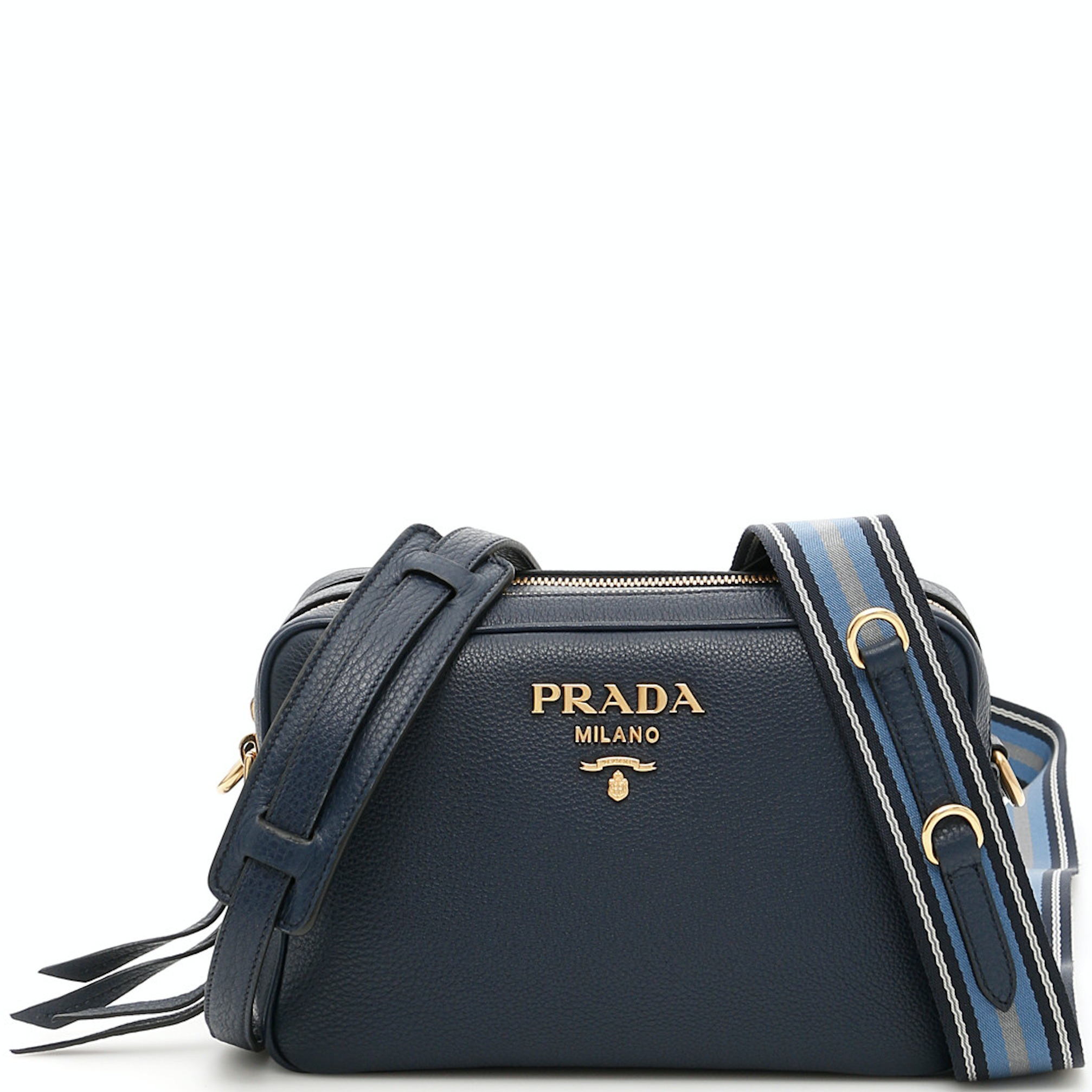 PR894 DAINO 2-ZIP SHOULDER BAG