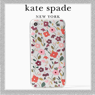 【新作☆】katenspade jeweled boho floral clear iphone 7/8
